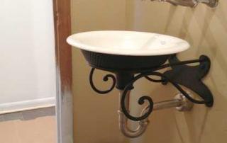 Bathroom remodel in Bethel Church