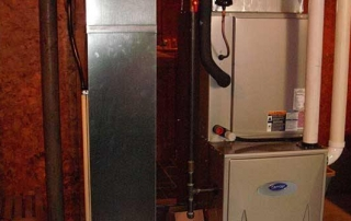 Furnace system in home