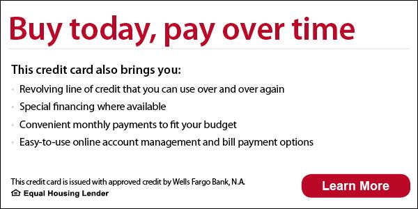 Wells Fargo Financing Information