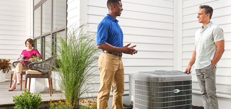 Advance Comfort Systems installs and services all types of air conditioners