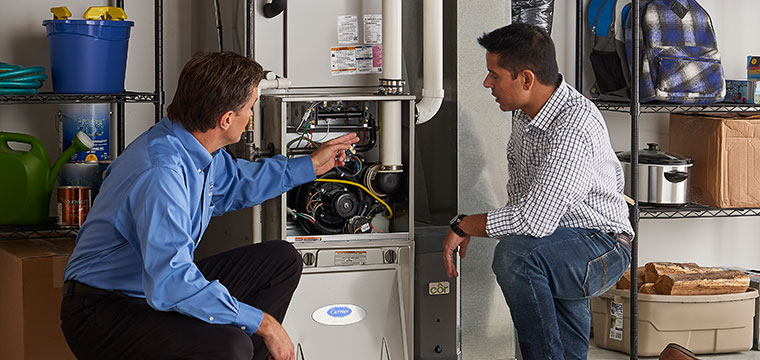 Installing a Carrier furnace