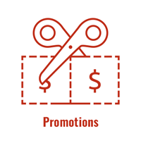 Icon - Promotions and Coupons