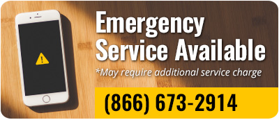 (866) 673-2914 Emergency Service Available *May require additional service charge